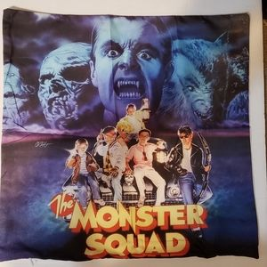 The monster squad halloween throw pillow cover